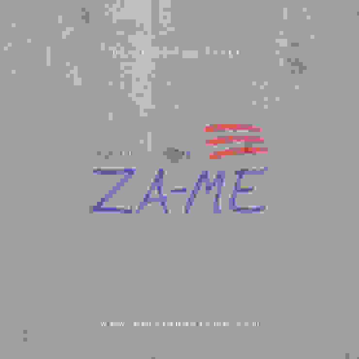 Papel tapiz de Decoraciones ZA-ME Clásico Textil Ámbar/Dorado