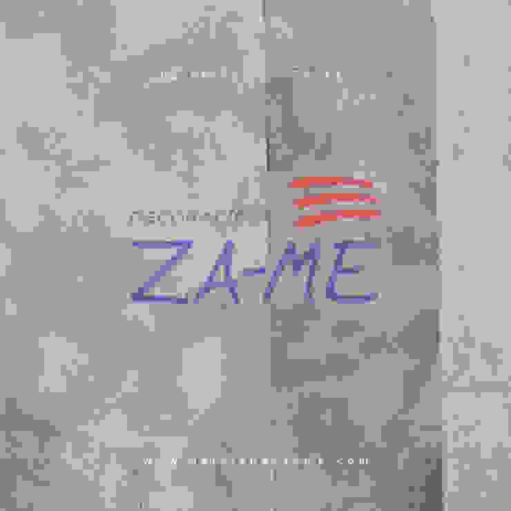 Papel tapiz de Decoraciones ZA-ME Clásico Sintético Marrón