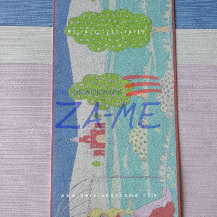 Papel tapiz de Decoraciones ZA-ME Clásico Papel