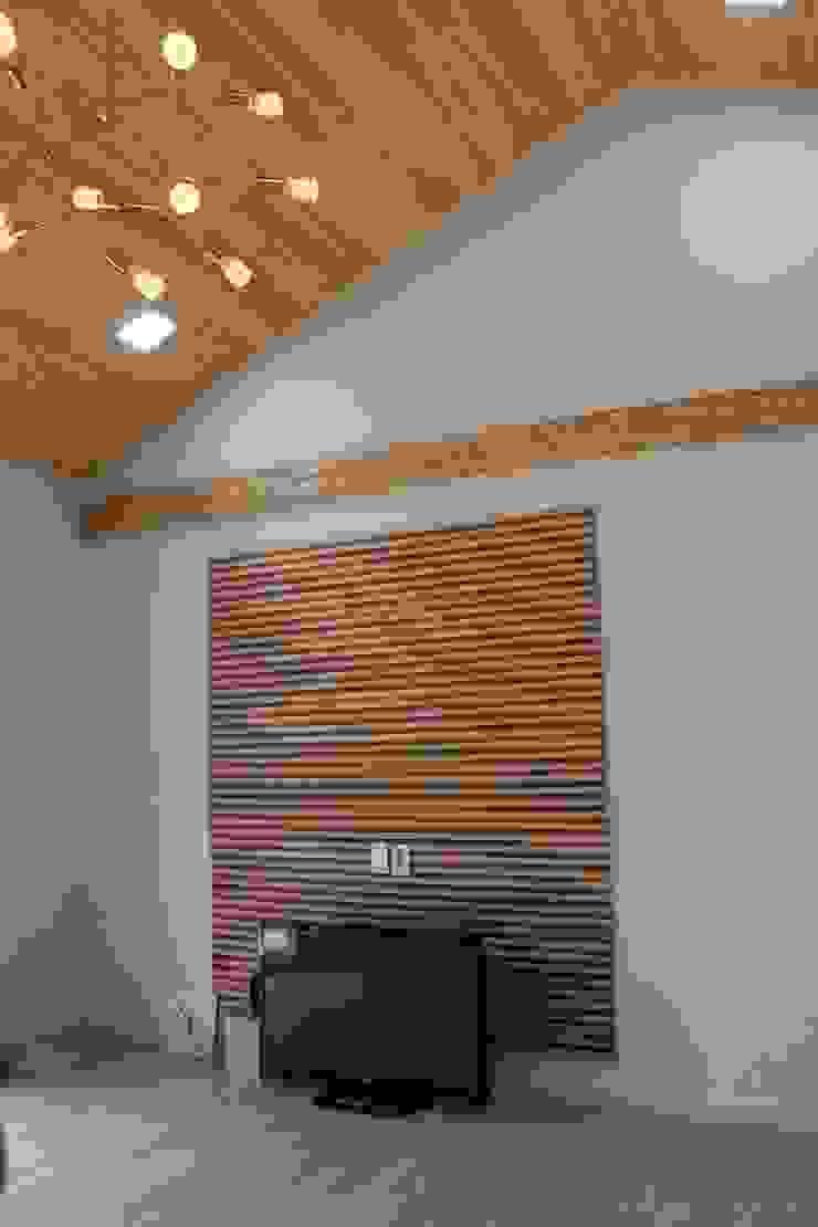 Modern Living Room by 나무집협동조합 Modern