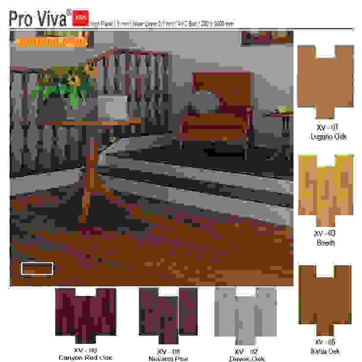 Vinyl Flooring Pro Viva Oleh Michafur Group & Co Minimalis Bahan Sintetis Brown