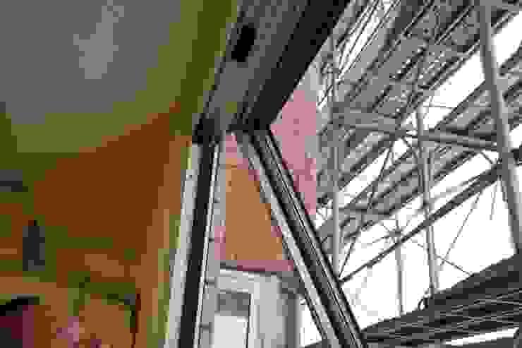 拆除外牆舊窗 僅留室內氣密窗 鵝牌氣密窗-台中直營店
