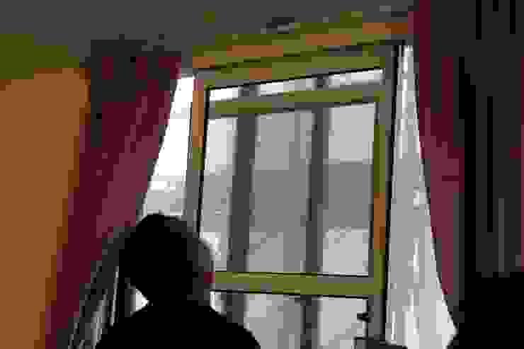 先將舊窗內扇拆下 鵝牌氣密窗-台中直營店