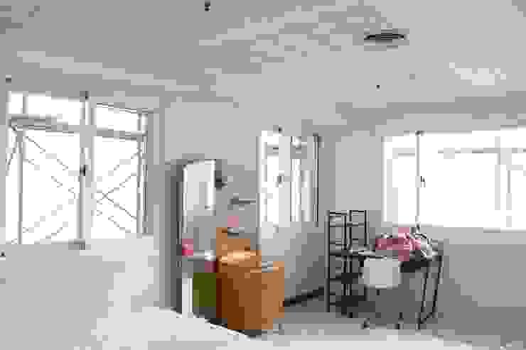 臥室完工全景 鵝牌氣密窗-台中直營店