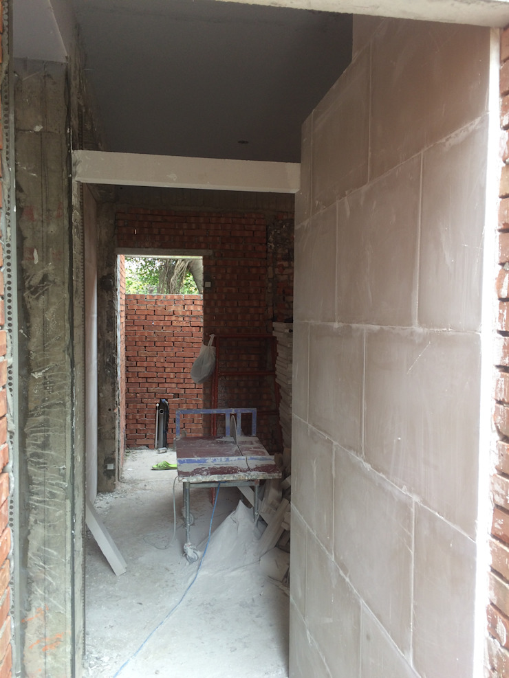 湖口工業園區員工宿舍 – 綠能防潮石膏磚施工案例 根據 寶瓏室內裝修有限公司