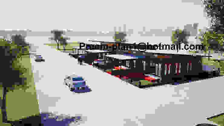 โครงการอาคารพาณิชย์ โดย รับเขียนแบบบ้าน&ออกแบบบ้าน คลาสสิค