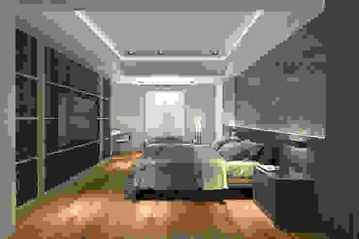 A設計之臥房 根據 青易國際設計 現代風