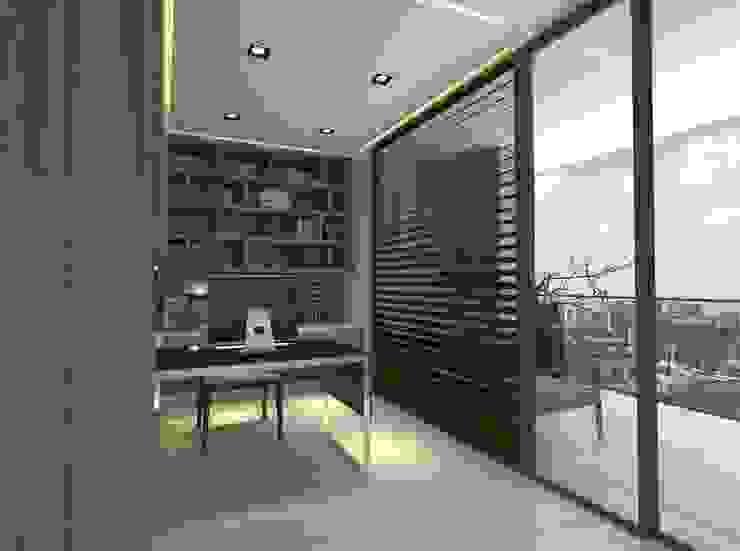 B設計之書房 根據 青易國際設計 現代風