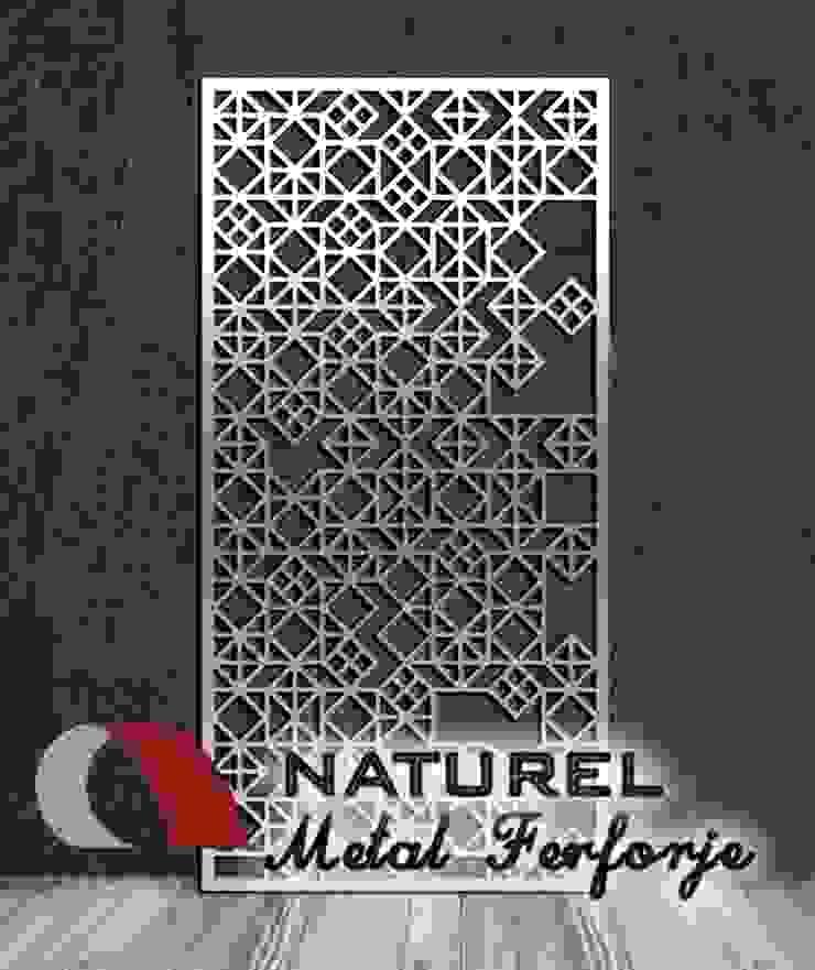 LAZER KESİM DEKORATİF EKRANLAR Modern Havalimanları NATUREL METAL FERFORJE Modern Metal