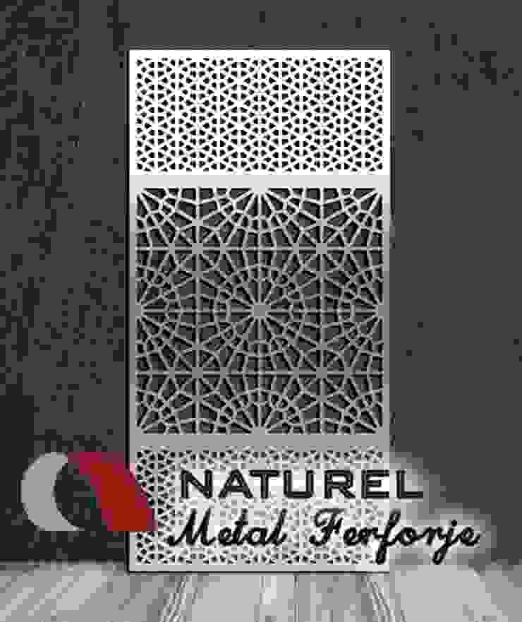 LAZER KESİM DEKORATİF EKRANLAR Modern Müzeler NATUREL METAL FERFORJE Modern Metal