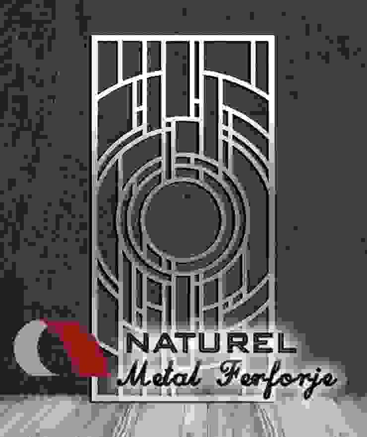 LAZER KESİM DEKORATİF EKRANLAR Modern Kongre Merkezleri NATUREL METAL FERFORJE Modern Metal