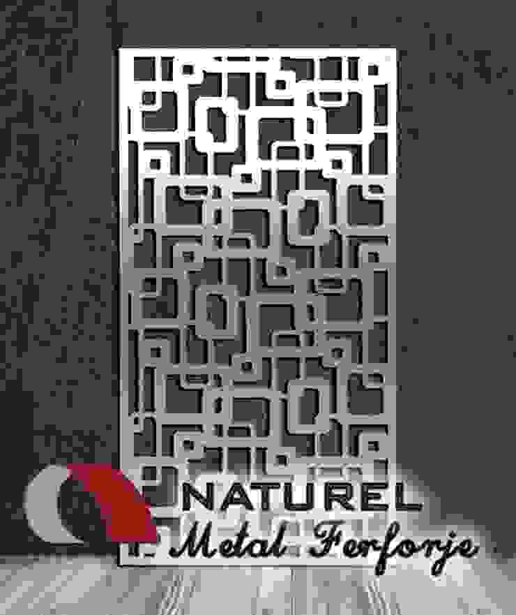 LAZER KESİM DEKORATİF EKRANLAR NATUREL METAL FERFORJE Modern Metal