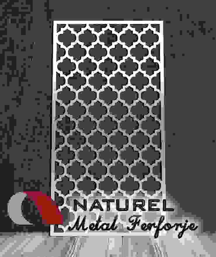 LAZER KESİM DEKORATİF EKRANLAR Modern Okullar NATUREL METAL FERFORJE Modern Metal