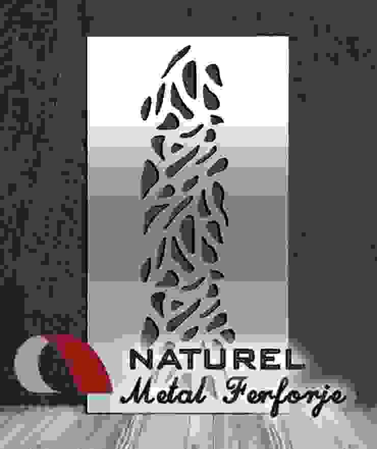 LAZER KESİM DEKORATİF EKRANLAR Modern Bar & Kulüpler NATUREL METAL FERFORJE Modern Metal