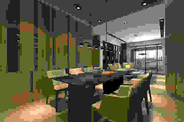 餐廳 根據 青易國際設計 現代風