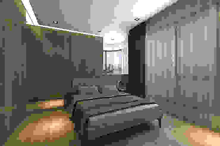 主臥房 根據 青易國際設計 現代風
