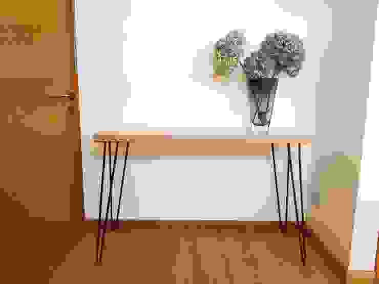 Vikingo:  de estilo industrial por SIMPLEMENTE AMBIENTE mobiliarios hogar y oficinas santiago , Industrial Madera Acabado en madera