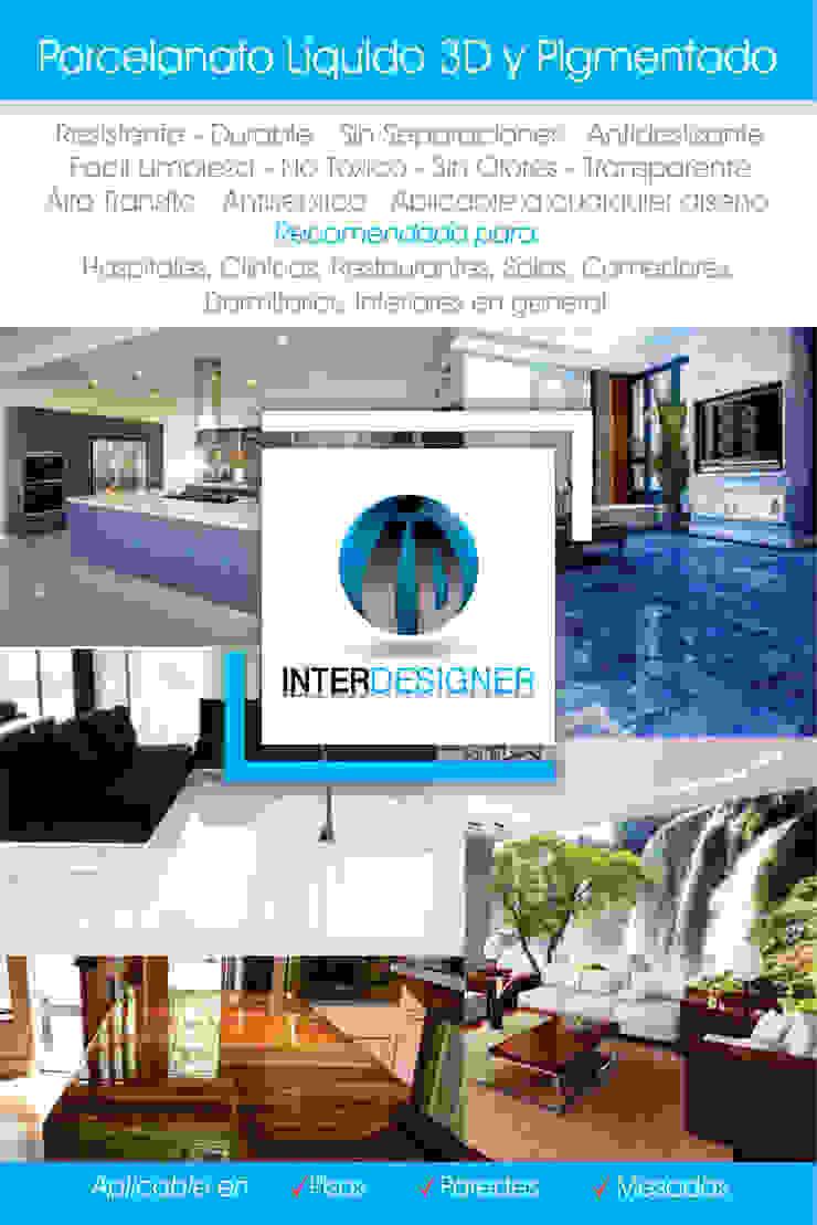 PORCELANATO LÍQUIDO 3D Y PIGMENTADO de Inter Designer