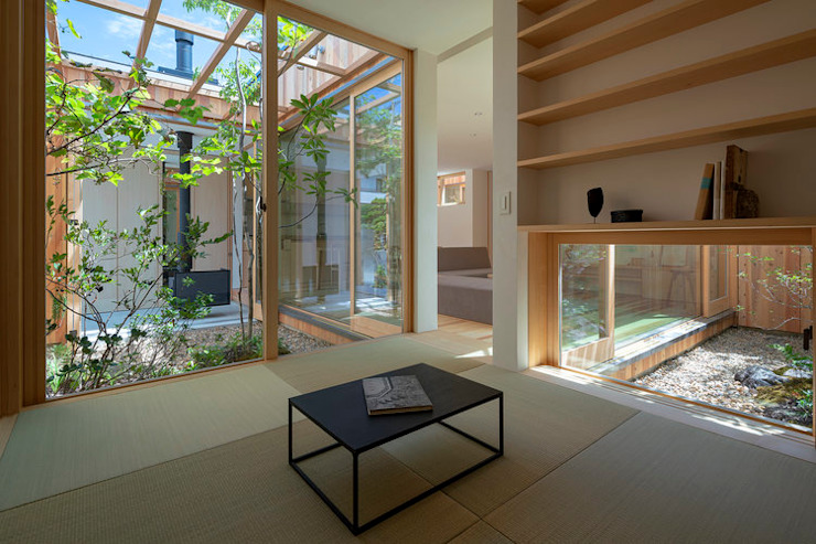 明石の家 house in akashi: arbolが手掛けた和のアイテムです。,ミニマル