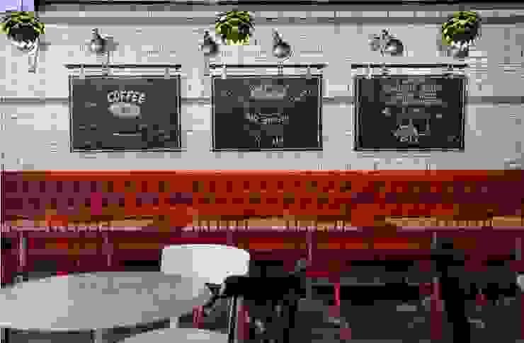 DESSERT CAFE INTERIOR 스칸디나비아 다이닝 룸 by 감자디자인 북유럽