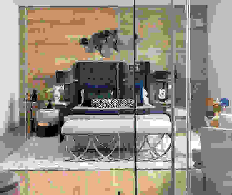 Alfombra en Lana de Nueva Zelanda y Seda 200 x 300 cm Dormitorios de estilo moderno de K A Y M A N T A Moderno