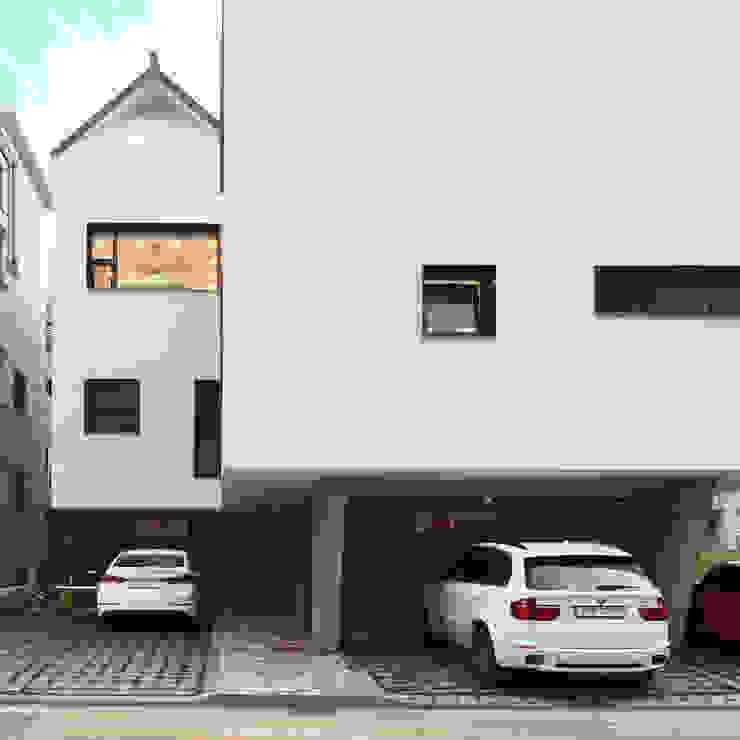 마당-1 by SPACEPRIME ARCHITECTURE 모던