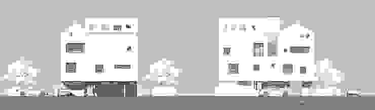 이웃건물을 고려한 열어둘 수 있는 창 만들기-1: SPACEPRIME ARCHITECTURE의 현대 ,모던