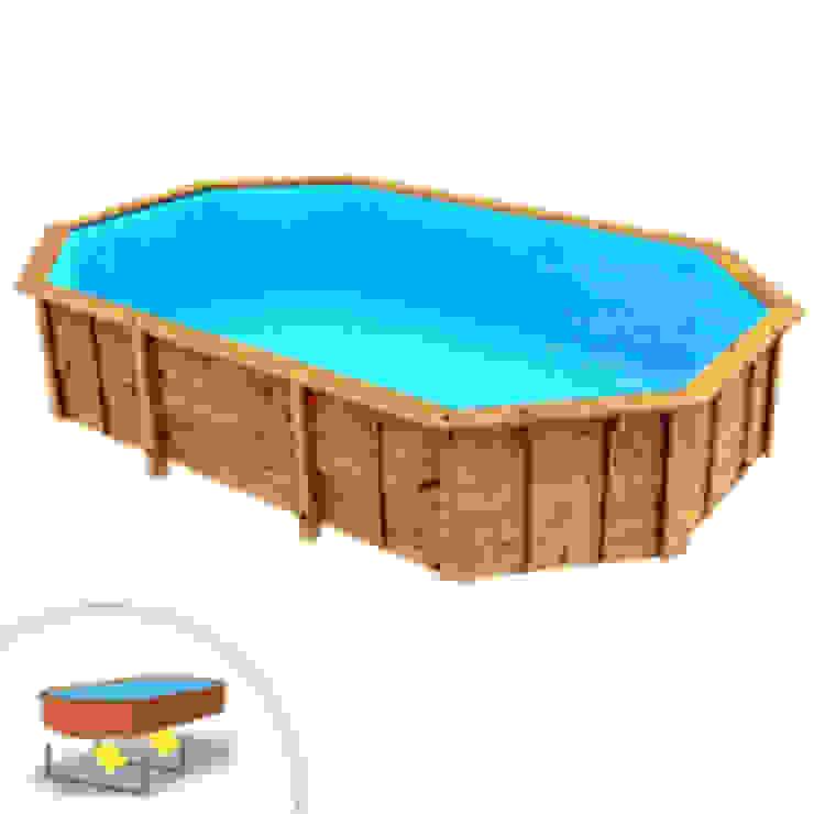 PISCINE LEGNO novità 2019 Piscineitalia Giardino con piscina