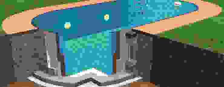 Costruire una piscina kit fai da te Piscineitalia Giardino con piscina