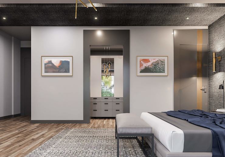 Giyinme odası Modern Giyinme Odası ANTE MİMARLIK Modern