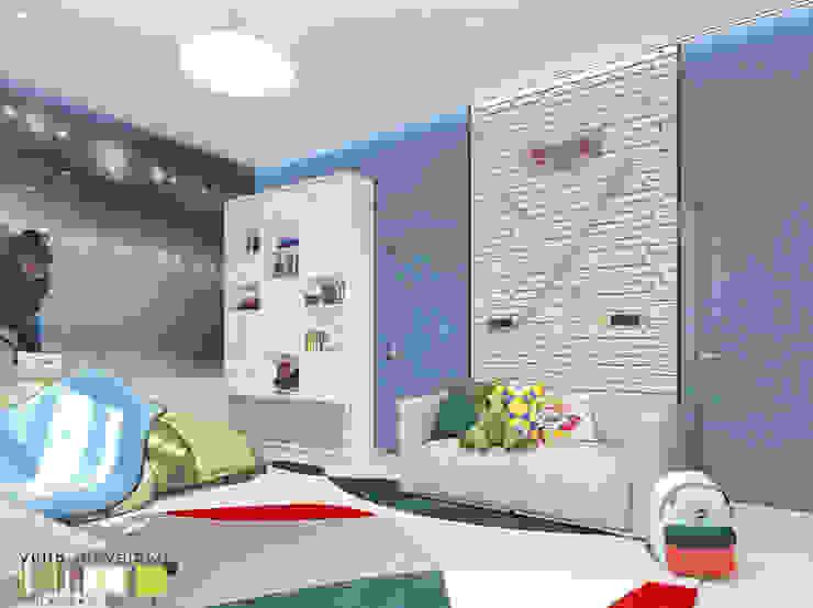 Dormitorios infantiles de Мастерская интерьера Юлии Шевелевой Ecléctico