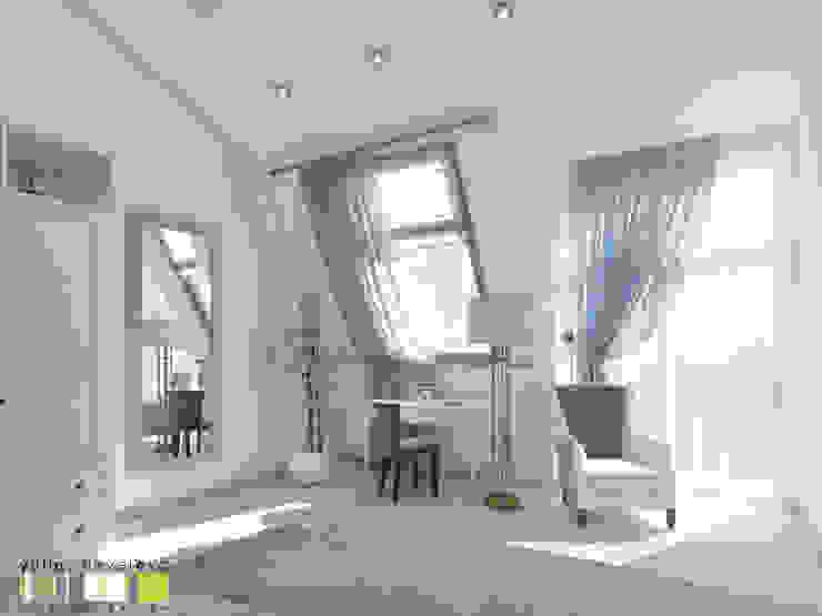 Dormitorios eclécticos de Мастерская интерьера Юлии Шевелевой Ecléctico