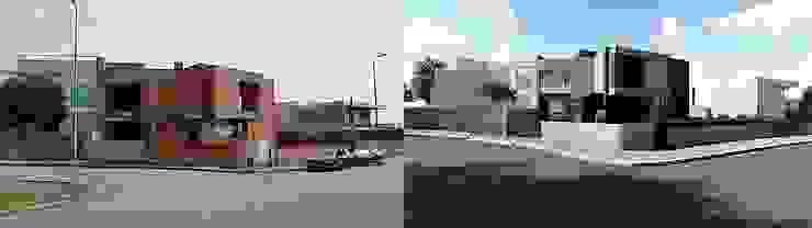 Casas estilo moderno: ideas, arquitectura e imágenes de EsboçoSigma, Lda Moderno
