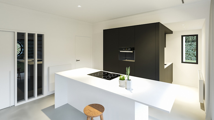 Modern kitchen by Studio Govaerts Modern