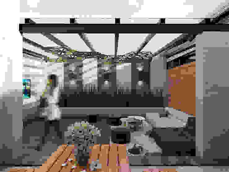 Terraza José Revueltas Taller Siete Nueve Arquitectura Balcón