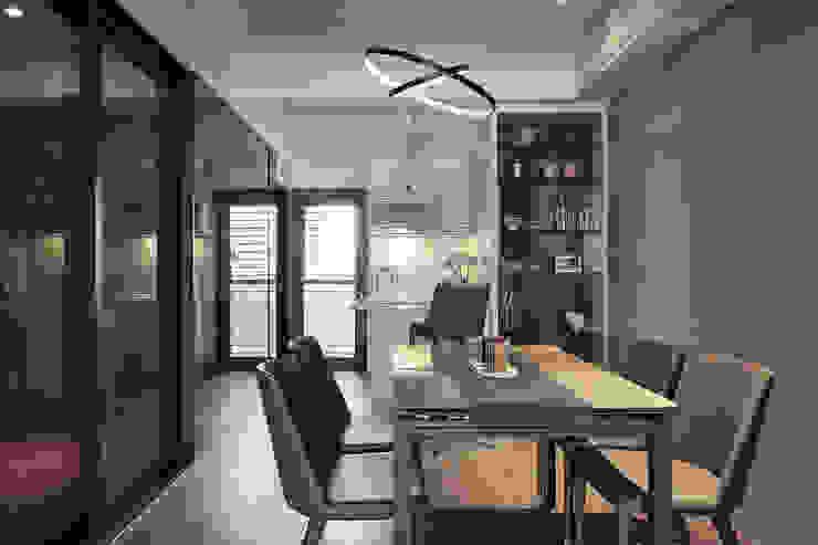Modern dining room by 大福空間設計有限公司 Modern