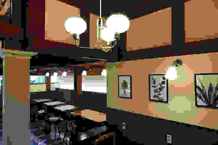 CAFE INTERIOR 아시아스타일 다이닝 룸 by 감자디자인 한옥