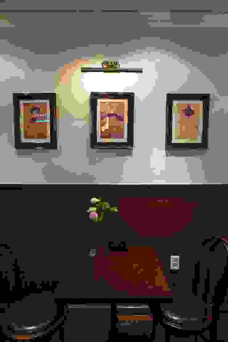 DESSERT CAFE INTERIOR 클래식스타일 벽지 & 바닥 by 감자디자인 클래식