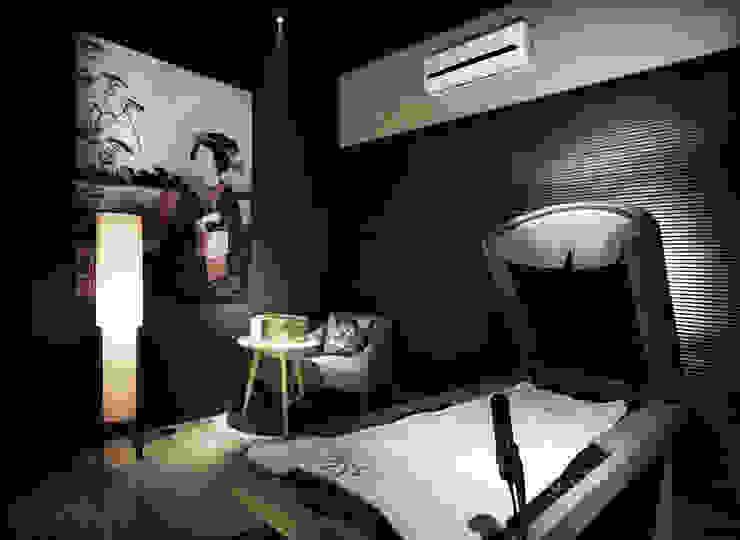 東方綺麗風華 | I'M SPA 會館 | 建築室內共同制作: 亞洲  by 竹村空間 Zhucun Design, 日式風、東方風