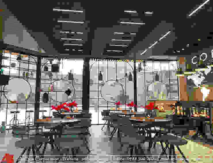 Thiết kế kiến trúc nội thất quán cafe: Châu Á  by Thiết Kế Nội Thất - ARTBOX, Châu Á