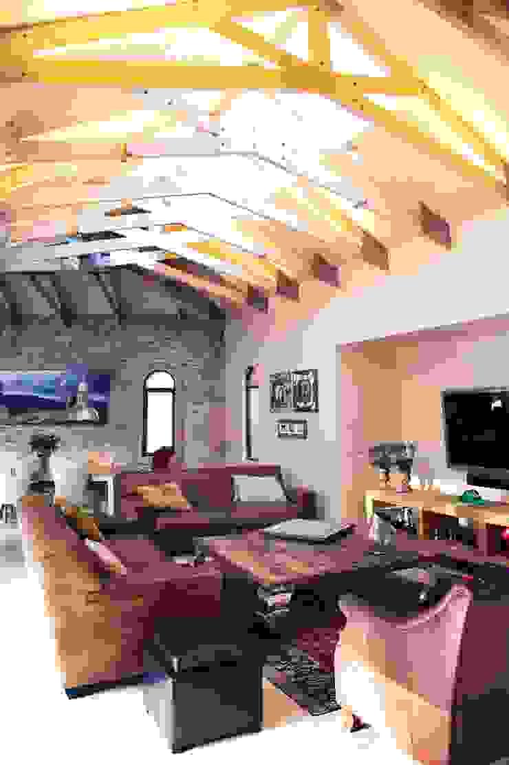 Villa Torino Modern living room by Plan Créatif Modern