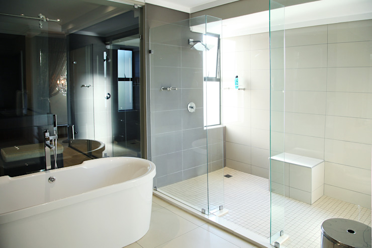 Modern style bathrooms by Plan Créatif Modern