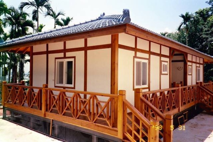 小木屋 根據 茂林樓梯扶手地板工程團隊 日式風、東方風
