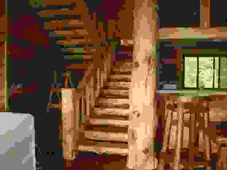 小木屋 根據 茂林樓梯扶手地板工程團隊 鄉村風