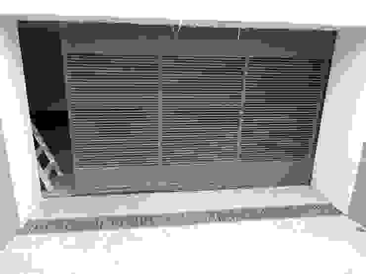 ESMETEVA pintu depan Metal Grey