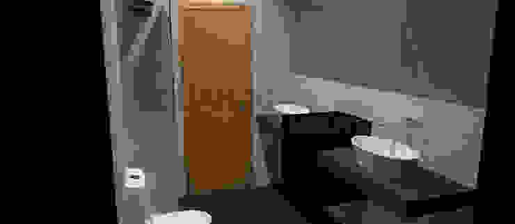 Remodelação de Casa de Banho Casas de banho minimalistas por Eduardo Coelho | Arquitecto Minimalista