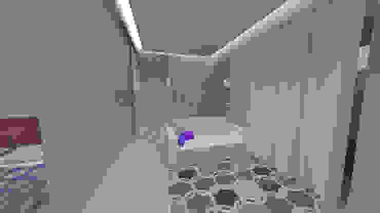 Sala Salas de estar modernas por Eduardo Coelho   Arquitecto Moderno