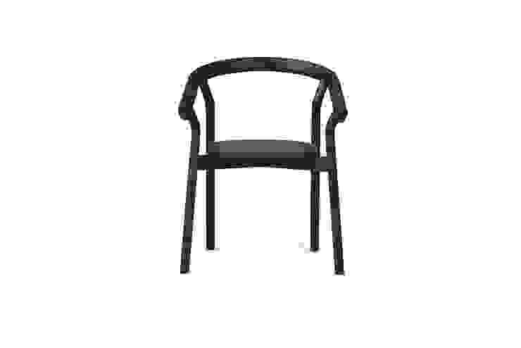 DORA chair - Grumpy Black por DAM Mediterrânico Madeira Acabamento em madeira