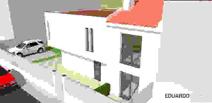 Fachada principal por Eduardo Coelho | Arquitecto Moderno