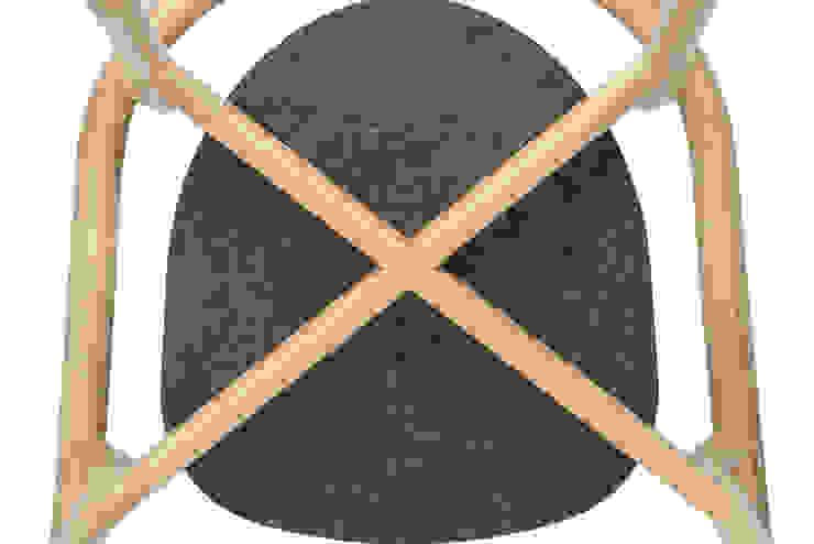 DORA chair - Detail por DAM Mediterrânico Madeira Acabamento em madeira